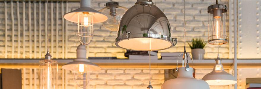 Acheter des luminaires design en ligne